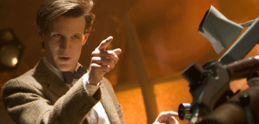 The Doctor Pointing